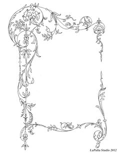 Frame for your Book of Shadows