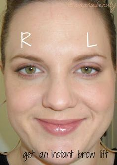 amariebeauty: How to Lift Drooping Eyelids Using Makeup Makeup For Droopy Eyelids, Drooping Eyelids, Droopy Eyes, Makeup For Green Eyes, Eyebrow Lift, Eyelid Lift, Eyebrow Makeup, Skin Makeup, Makeup Contouring