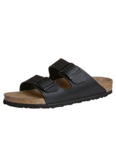 Birkenstock ARIZONA - Sandaler - schwarz - Zalando.no Birkenstock Arizona, Fit, Slippers, Slip On, Footwear, Sunglasses, My Style, Blue, Shoes