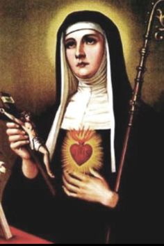 Happy feat of St. Margaret Mary Alacoque of the Sacred Heart of Jesus!! - October 16th