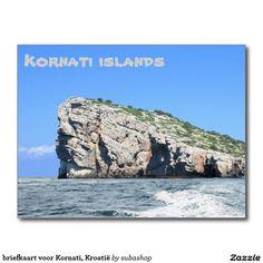 briefkaart voor Kornati, Kroatië
