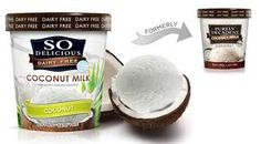 SO Delicious Coconut Milk... I could live off of these products for the rest of my life! :-)