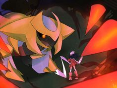 Dawn Meets Giratina