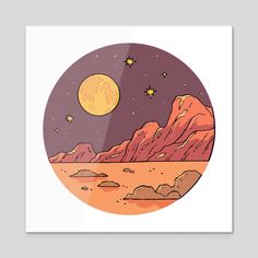 Our full catalog of gallery quality art prints for sale. Circle Art, Art Prints, Vinyl Record Art, Art Painting, Harry Styles Drawing, Illustration Art, Art, Moon Drawing, Easy Canvas Art
