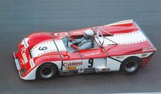 Bob Wollek / Jean-Pierre Jabouille - Chevron B21 Ford - Canon Racing - 1000 Kilometres de Paris - Rouen-Les Essarts - 1971 Campeonato de España de Conductores de Velocidad en Circuito para Vehiculos de Gran Turismo-Sport, round 12