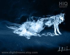 The Patronus Charm (Expecto Patronum) is an immensely complicated, very difficult protective spell that evokes a partially-tangible positive energy