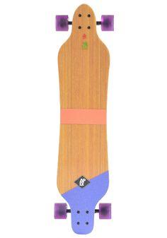 #planetsports APEX Complete Longboard Serpentine B1 Flex 1 purple-white