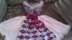 Girls Spring timeTwirlie Dress by tjantnesh on Etsy, $19.00