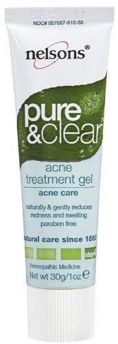NELSONS ACNE GELPURE  CLEAR 1 OZ -- Want additional info? Click on the image.