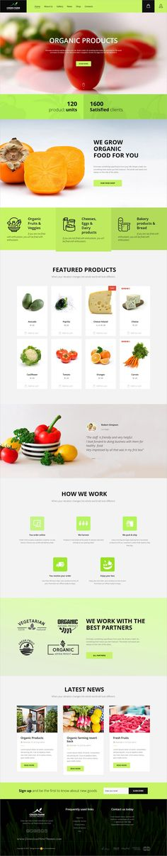 Green farm is an advance responsive #WooCommerce #WordPress theme for #organic food and #agriculture farms website download now➩ https://themeforest.net/item/green-farm-organic-food-eco-farm-wp-theme/19184389?ref=Datasata