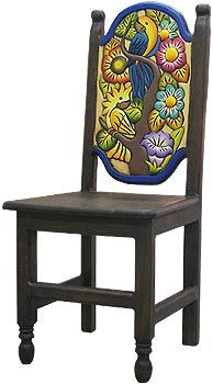 Carved Collection Birds Chair 1 Cc070