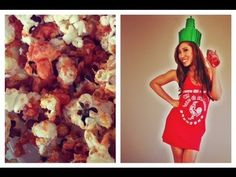 This chick has some killer pilates videos! She's kind of amazing Sriracha Popcorn, Pilates Workout Videos, Food Plus, Healthy Snacks, Healthy Recipes, Popcorn Recipes, Fabulous Foods, Fun Cooking, Food For Thought