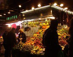 Mercado da Boqueria, Barcelona. Foto: Cyntia Campos