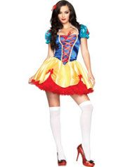 Adult Seductive Snow White Costume, $39.99