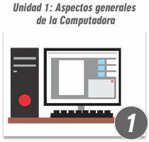 Unidad 1: Aspectos generales de la computadora