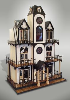 John used to build some pretty extravagent doll houses to sell around the holidays...