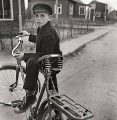 View With the Fathers Bicycle, Lithuanian, Dzukija by Antanas Sutkus on artnet. Browse upcoming and past auction lots by Antanas Sutkus. Black And White Portraits, Black And White Photography, Photography Gallery, Street Photography, Vintage Photography, Art Society, Photographs Of People, Old Bikes, Great Photographers