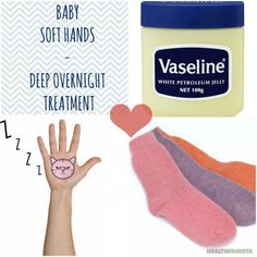 The ultimate deep-action overnight treatment for dull tired hands! Wake up to beautiful soft palms the next day.