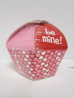 valentines cupcake favor box Case of 24