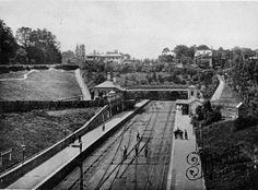 Old photo of Highgate Station c1880, London
