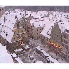My hometown Weiden Germany in winter