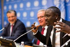 Akon launches his Solar energy academy which could help 600 million get access to electricity