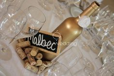 Cute idea...label each table as a different type of wine. When you assign guests to a table, send them to their designated wine type!