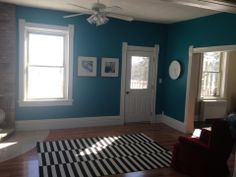Benjamin Moore S Caribbean Blue Water New House Pinterest Karibien Och Teal