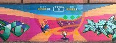 Sonic special stage graffiti.    (via Reddit)   bt8J1.jpg (720×266)
