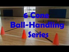 6 Cone Ball-Handling Series- How to perfect your dribble moves! Basketball Videos, Basketball Practice, Basketball Workouts, Basketball Skills, Basketball Shooting, Basketball Coach, Basketball Uniforms, Basketball Jersey, Dribbling Drills Basketball