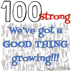 100 strong!