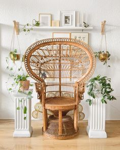 Peacock Chair, Sit Back And Relax, Holi, Wicker, Calendar, Auction, Furniture, Vintage, Instagram