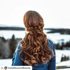 Hi every beauty, today's hair is half up braid hairstyle with big curves featuring our extensions done by ! Hope you like it! Wish you all have a great weekend❤️❤️ Half Up, Braided Hairstyles, Hair Extensions, Curves, Braids, Long Hair Styles, The Originals, Big, Beauty