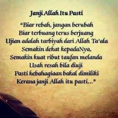 Allah Quotes, Muslim Quotes, Islamic Quotes, Hijrah Islam, Foto Poster, Quotes Indonesia, Wallpaper Quotes, Love Life, Wise Words