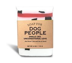 Soap for Dog People - Smells like unconditional love! Cool Stuff, Random Stuff, Dog Lover Gifts, Dog Lovers, Whiskey River Soap, Mens Soap, Funny Candles, Bath Soap, Best Christmas Gifts