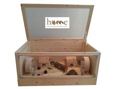 Wooden Hedgehog Cage Hamster homes shop - homes & accessories for small pets