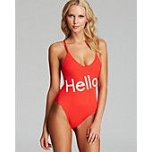 WILDFOX Charlie! Classic One Piece Swimsuit