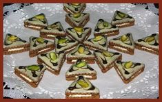 Czech Recipes, Christmas Sweets, Green Beans, Waffles, Biscuits, Sweet Tooth, Candy, Cookies, Chocolate