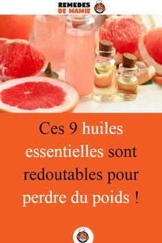 Ces 9 huiles essentielles sont redoutables pour perdre du poids !