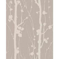 Wallpaper grey trees