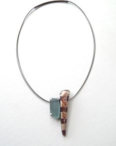 Unique and beautiful necklace! Created by Terri Logan, available at Good Goods.  www.goodgoods.com