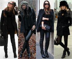 Como se vestir nos dias de frio intenso! Dicas pra montar looks práticos e elegantes. 01