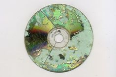 I want to make a CD label with a map like this! (old ruined CD)