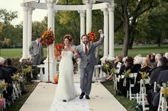 Our Favorite Wedding Recessionals Wedding Ceremony Photos on WeddingWire