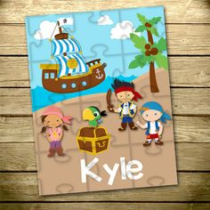 Personalized Children's Puzzle Personalized by YourStyleStudio