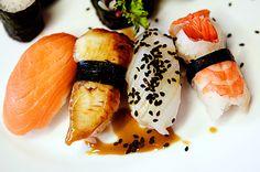 Ekskluzywna fotografia produktowa przedstawiająca danie sushi