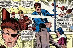 Nick Fury, Agent of SHIELD - Barry Smith (Marvel)