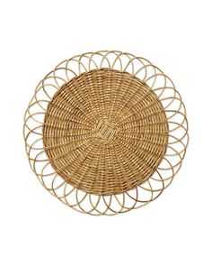 Round Rattan Placemat - Serena & Lily