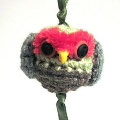 Owl Purse Charm or Key Chain  http://www.etsy.com/listing/88023989/keychain-plush-owl-charm-key-chain    $14.00