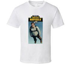 Peter Deadpool Sky Diving Fortnite Battle Royal T Shirt